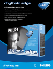 PHILIPS Sound Card PSC 703 64Bit
