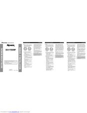 Pioneer DEH-P390MP - Premier Radio / CD Install Manual