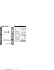 pioneer deh p6500 manuals. Black Bedroom Furniture Sets. Home Design Ideas