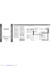 pioneer suepr tuner iii deh p7200 manuals rh manualslib com pioneer deh-p7200 wiring diagram Pioneer DEH -150MP Wiring-Diagram