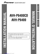 pioneer avh p6400cd manuals rh manualslib com