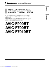 pioneer avic f900bt installation manual pdf download rh manualslib com Reset AVIC-F900BT AVIC-F900BT Firmware 3.0