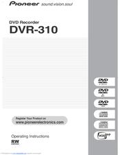 pioneer dvr 310 s manuals rh manualslib com TV DVR Recorders Walmart Best DVR Recorder