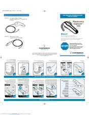 plantronics explorer 320 manuals rh manualslib com Plantronics CS55 User Guide Plantronics Wired Headset