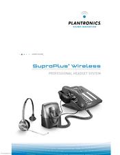 plantronics suproplus headset system manuals rh manualslib com Plantronics CS70 Manual Plantronics CS70 Manual