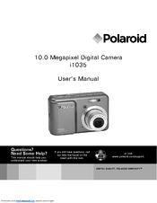 polaroid i1035 user manual pdf download rh manualslib com Instruction Manual Book Manuals in PDF