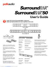 polk audio surroundbar manuals rh manualslib com polk audio soundbar manual polk audio surroundbar 6500bt manual
