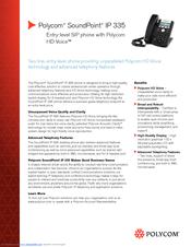polycom phones manual ip 335