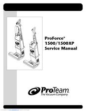 Pro Team Proforce 1500xp Manuals