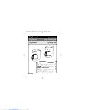 Proctor Silex Coffee Maker Instruction Manual : Proctor-silex 43571 Manuals