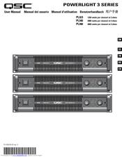 qsc powerlight pl340 manuals rh manualslib com