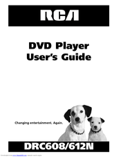 RCA DRC612N User Manual