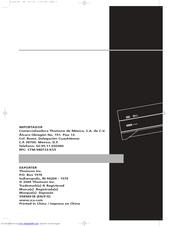 RCA RT2380BK User Manual