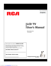 RCA 19LA30RQ User Manual