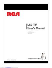 rca 46la45rq user manual pdf download rh manualslib com RCA Console Stereo Models RCA Colortrak