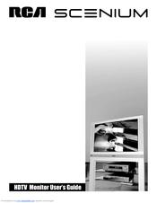 rca scenium hdlp50w151 user manual pdf download rh manualslib com RCA Scenium 50 HDTV RCA Scenium TV Manual