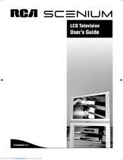rca scenium lcdx2722w manuals rh manualslib com RCA Scenium 50 HDTV RCA Scenium 50 HDTV