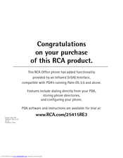 RCA 25415RE3 - Business Phone Corded Brochure