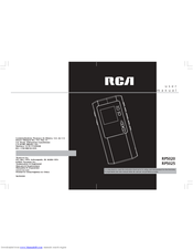 rca rp5025 digital voice recorder manuals rh manualslib com rca digital voice recorder rp5022a manual rca voice recorder manual vr5220-a