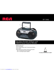 RCA RP-7995 Specifications