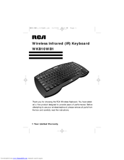rca universal remote manual pdf