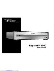 Sonic Blue Replaytv 5000 Manuals Manualslib