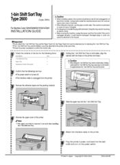 Ricoh AP600N Installation Manual