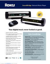roku soundbridge m500 manuals rh manualslib com Roku SoundBridge Software Roku SoundBridge M1000 Manual