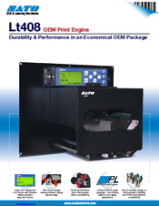 SATO LT408 Specifications