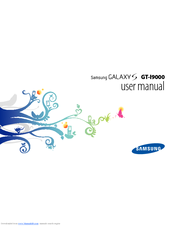 Samsung GALAXY S GT-I9000 User Manual