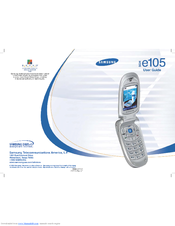 Samsung SGH-E105 User Manual