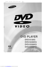 Samsung dvd s126 manuals sciox Choice Image