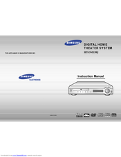 Samsung HT-DM150J Instruction Manual