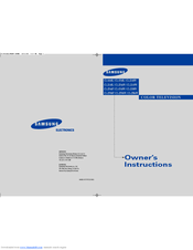 Samsung CL21A9 Owner's Instructions Manual
