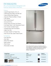 Samsung model rf266aepn/xaa-01 bottom-mount refrigerator genuine parts.