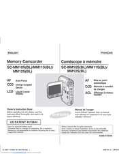 Samsung SC-MM10 Owner's Instruction Book
