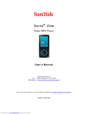 sandisk sansa sansa view 32gb manuals rh manualslib com 2014 C250 2010 C250