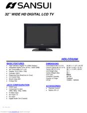 sansui hdlcd3200 manuals rh manualslib com Sansui AU 9900 Sansui TV Owners Manual