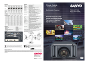 Sanyo PDG-DHT100L - DLP Projector - HD 1080p Specifications