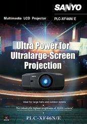sanyo plc xf40 multimedia projector service manual download