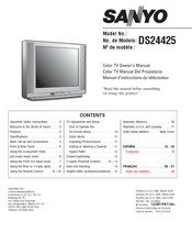 sanyo ds24425 manuals rh manualslib com Service Repair Manuals Online Alfa Remeo Service Repair Manuals