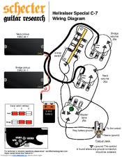 schecter guitars series wiring diagram schecter free engine image for user manual