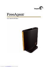 Seagate FreeAgent Desktop 500GB User Manual
