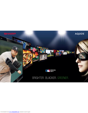 Sharp BD HP52U - AQUOS 1080P Blu-ray Disc Player Brochure & Specs