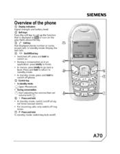 siemens a70 manuals rh manualslib com Center 24 On A35 Who Made the A35