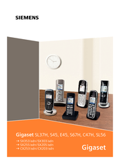gigaset sl56 user manual pdf download rh manualslib com
