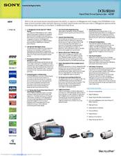 sony handycam dcr sr200 manuals rh manualslib com sony handycam dcr-sr200 manual sony handycam dcr-sr200 manual