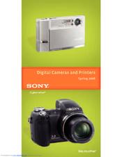 Sony DSCT9 - Cybershot 6 Mp Dig. Camera-bk Brochure