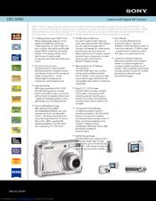 sony dsc s650 cyber shot digital camera manuals rh manualslib com Sony Cyber-shot DSC-R1 sony cyber shot dsc s650 manual
