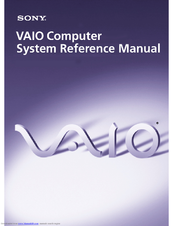 Sony VAIO PCV-7753 Reference Manual